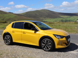 The new Peugeot 208 on test for Changing Lanes in the Blackstairs Mountains