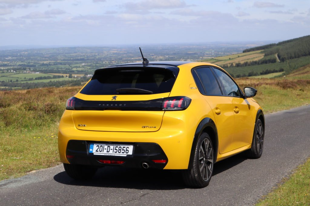 The 2020 Peugeot 208 is available from €18,300 in Ireland