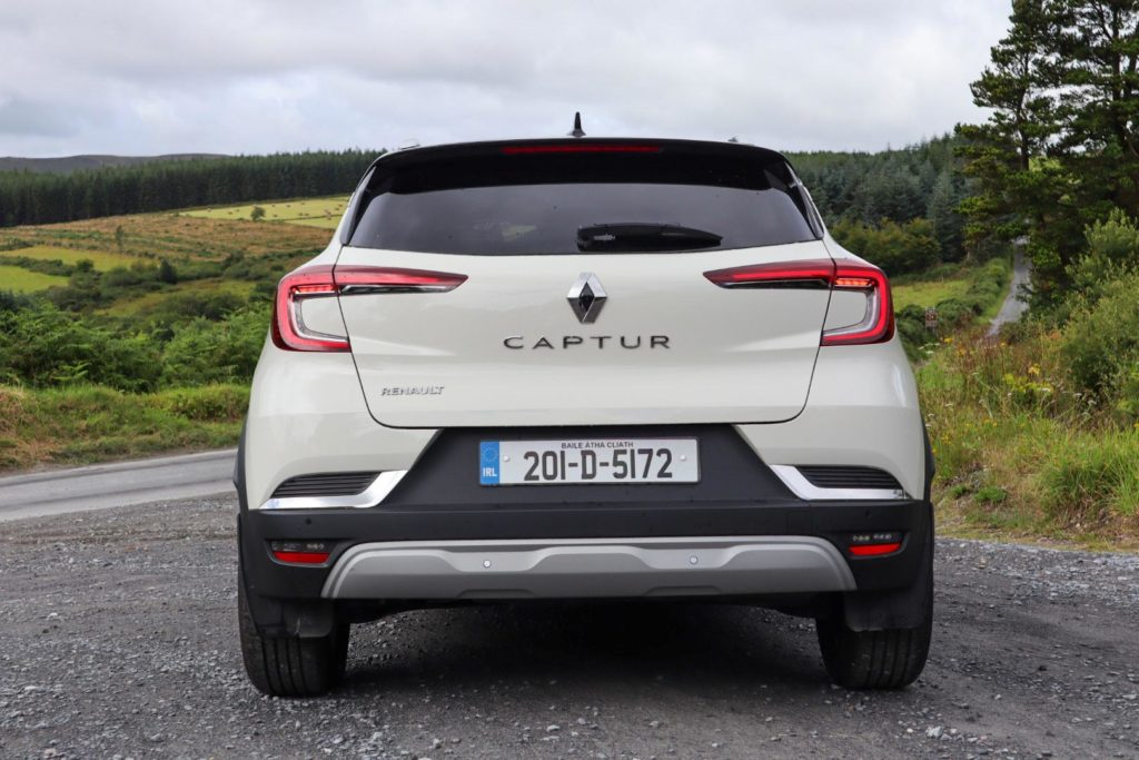 Bold styling and a practical interior make the Captur stand out