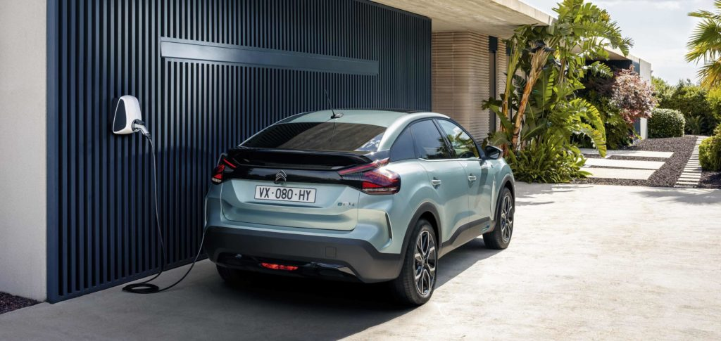 The new C4 will be available for the first time as an electric vehicle