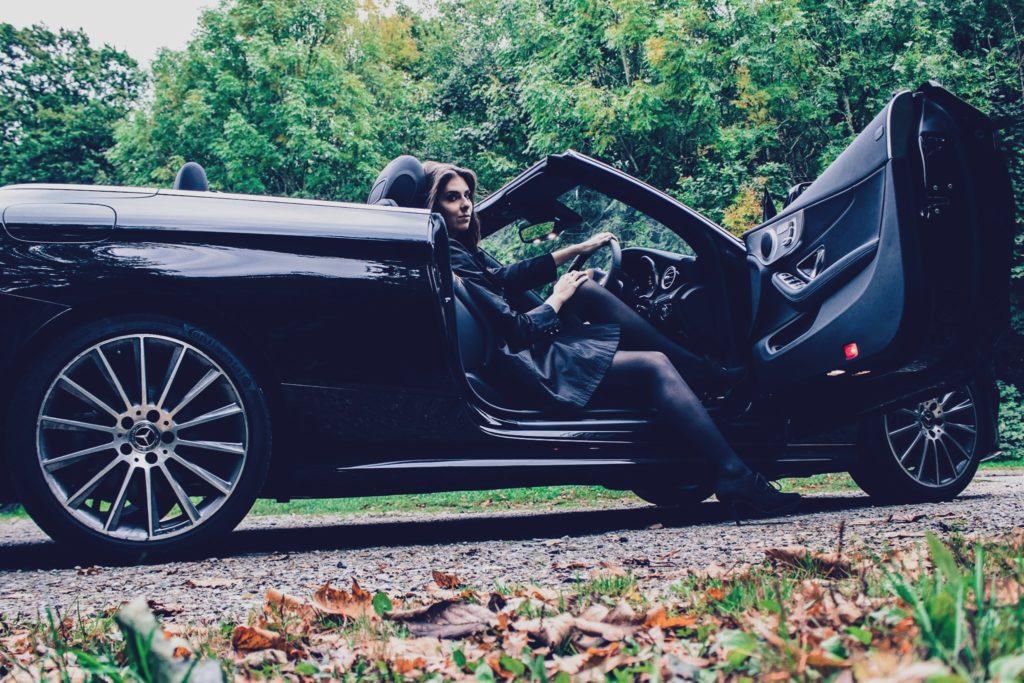 Mercedes-Benz C-Class Cabriolet: Comfortable; relaxing; dark
