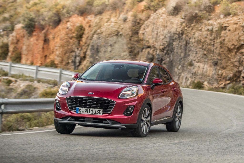 The Ford Puma Titanium kicks off the range at €24,835