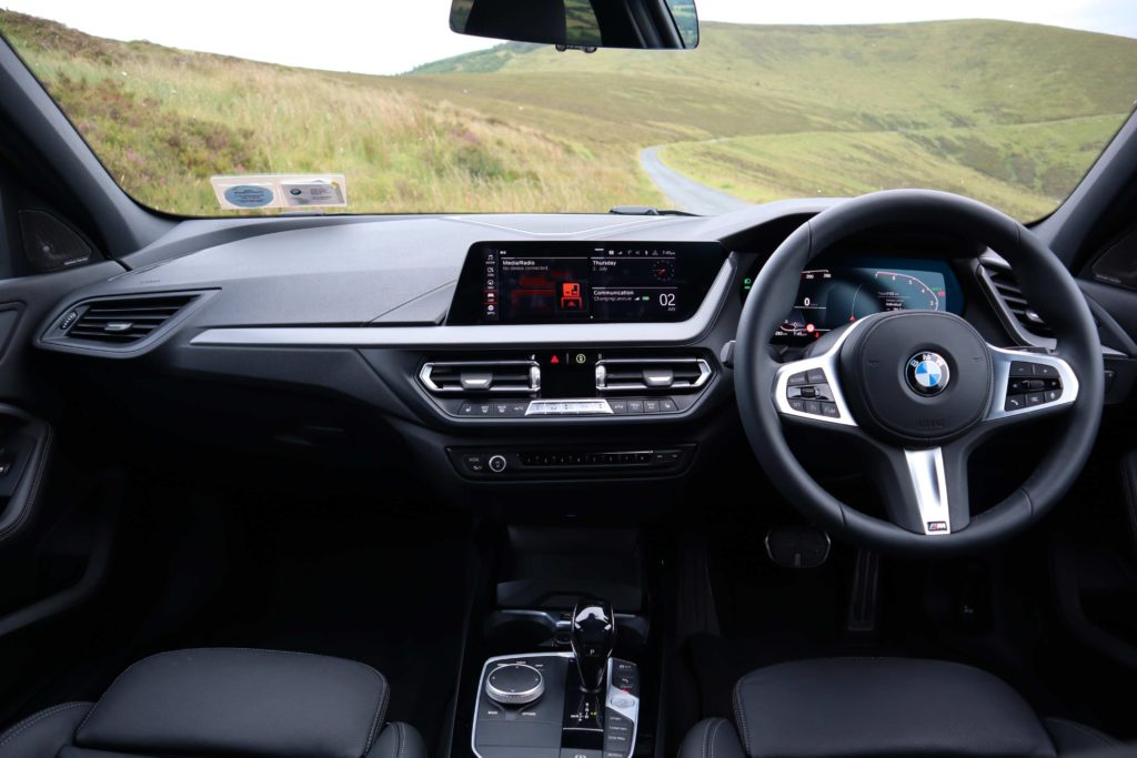 Inside the new BMW 1 Series