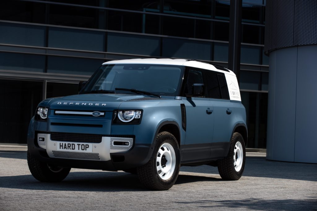 The new Land Rover Defender Commercial Hard Top