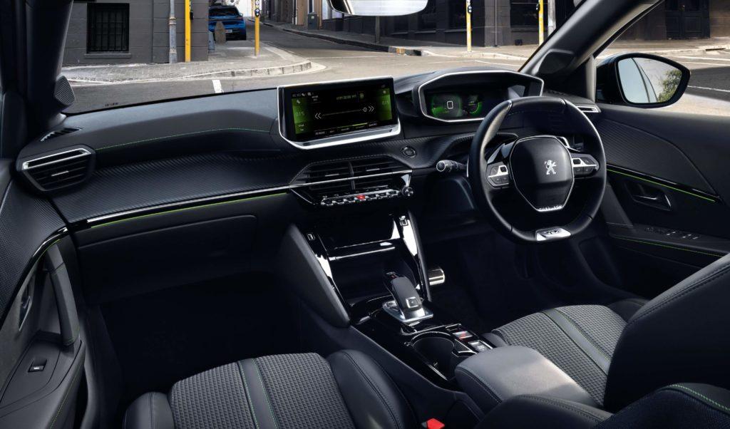 Inside the new Peugeot 208