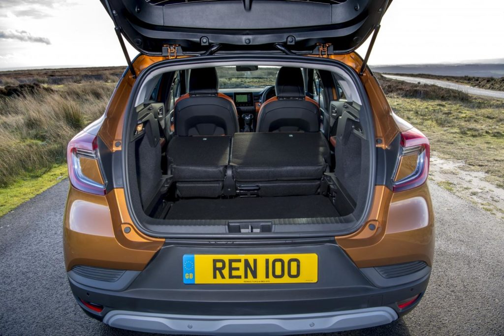 The new Renault Captur has many practical features