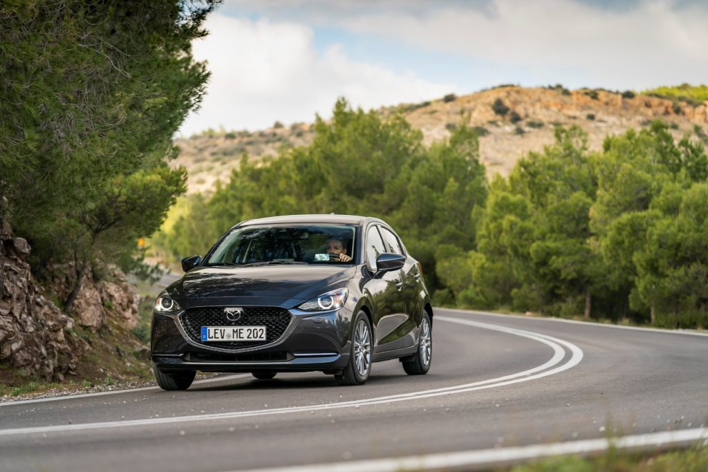 The Mazda2 has also had some improvements to the driving experience for 2020