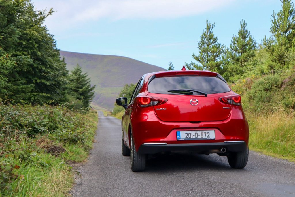 Mild hybrid technology debuts in the Mazda2 for the first time