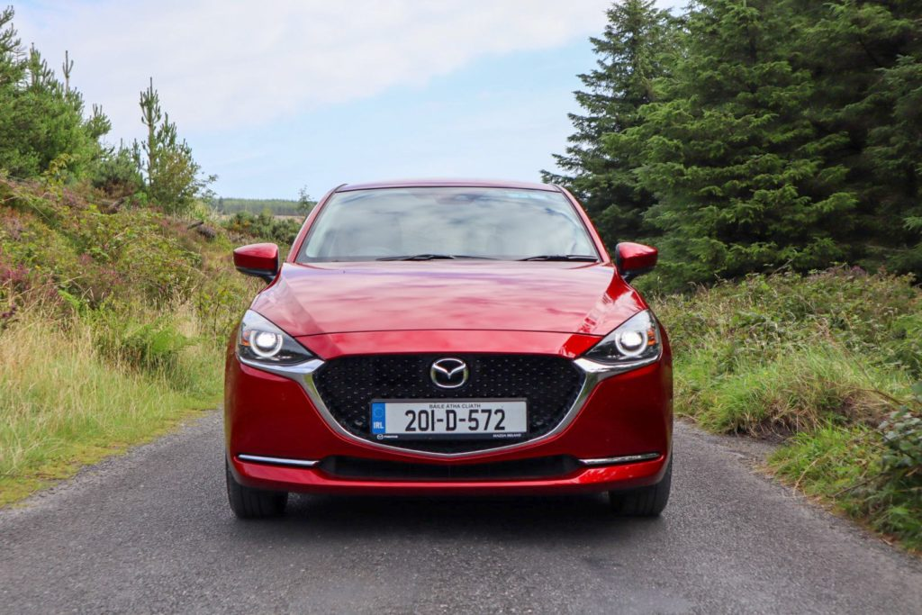 The Mazda2 is on sale priced from €19,755