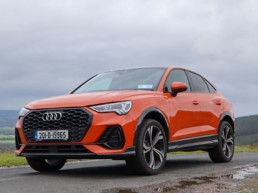The new Audi Q3 Sportback on location for Changing Lanes!