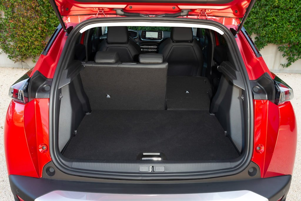 Boot space in the new Peugeot 2008