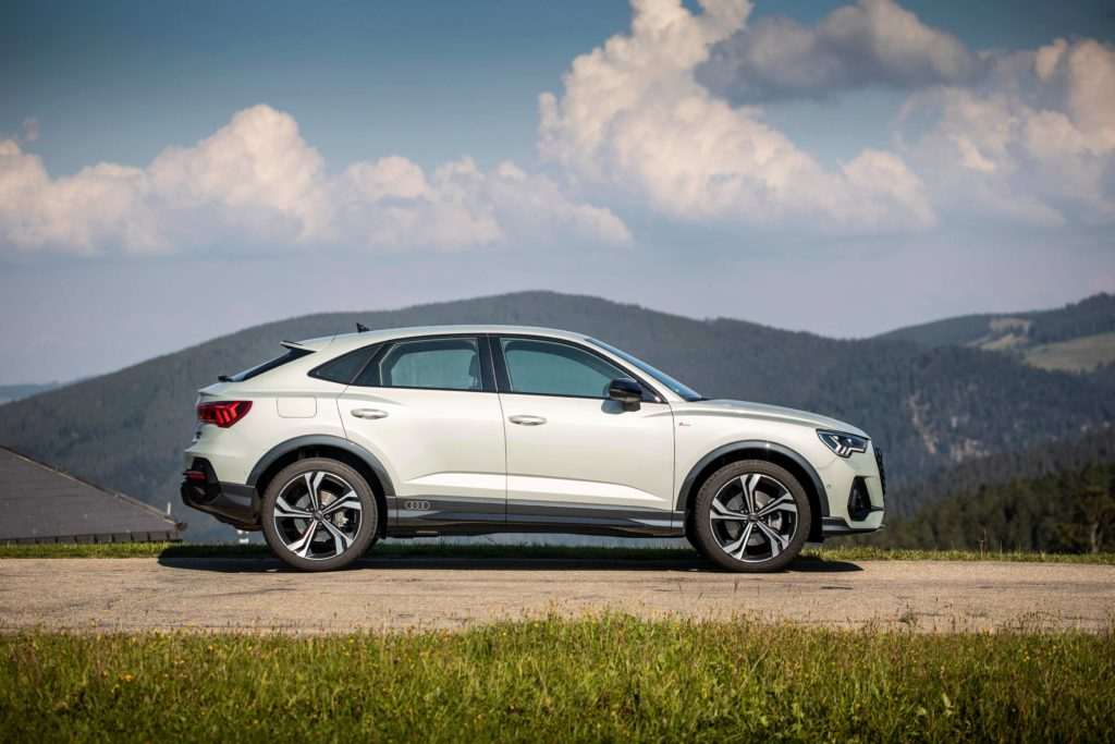 The new Q3 Sportback is stylish and practical