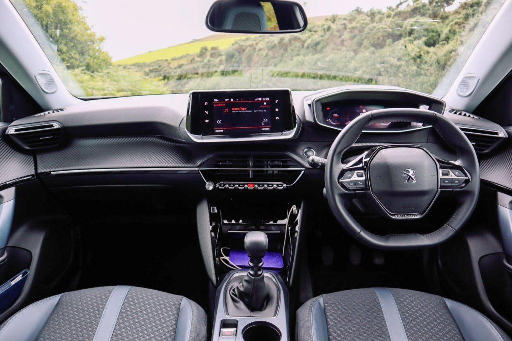 Inside the 2020 Peugeot 2008
