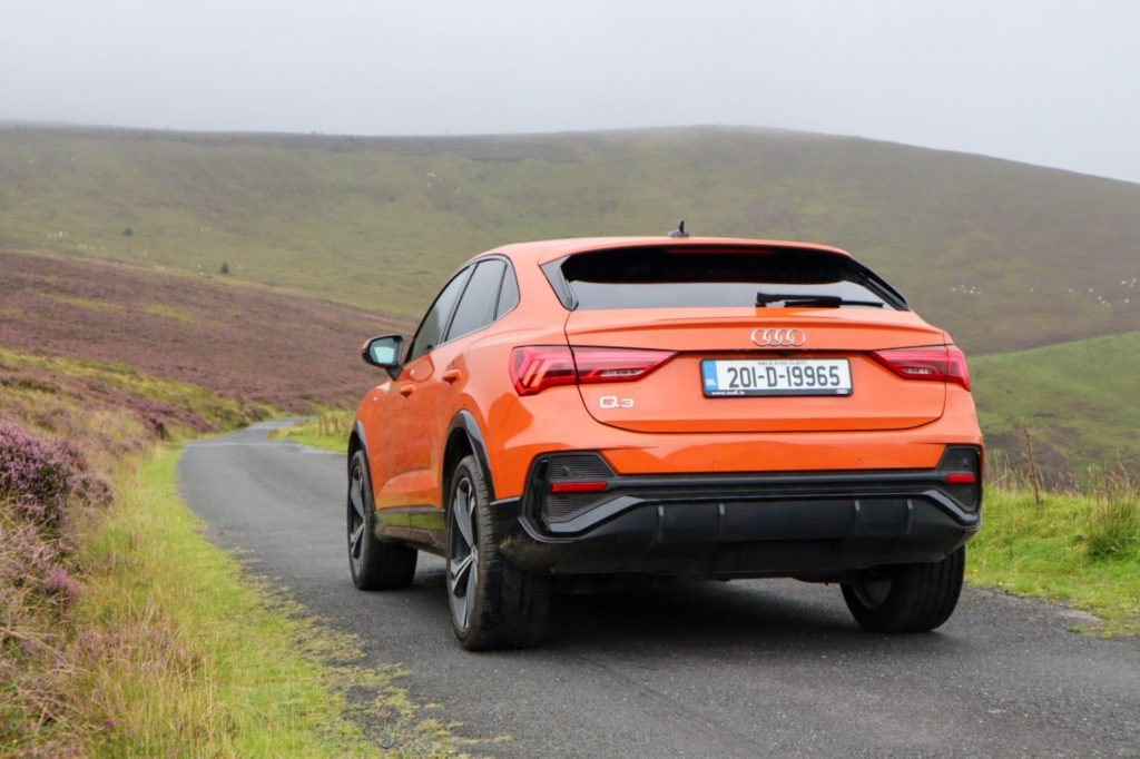 The Q3 Sportback is available with petrol and diesel engines
