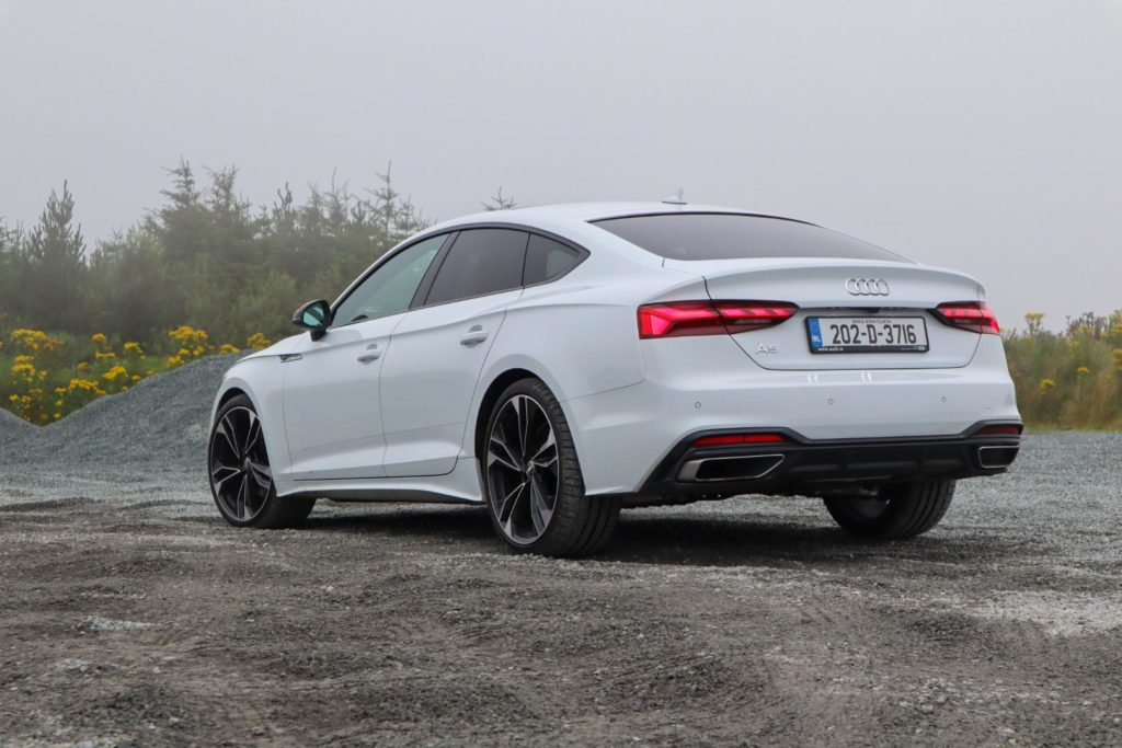 The new A5 Sportback is available from €48,970 in Ireland