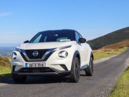 The new Nissan Juke on test for Changing Lanes