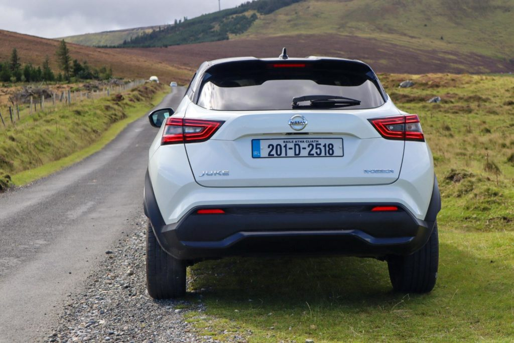 The Nissan Juke is powered by a 1.0-litre petrol engine
