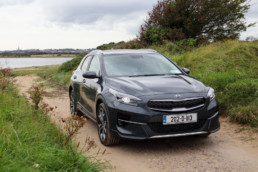 The new Kia XCeed PHEV on test for Changing Lanes
