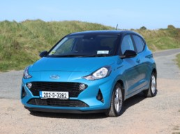 The new Hyundai i10 on test for Changing Lanes!