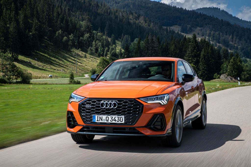 The Audi Q3 Sportback is on sale in Ireland priced from €40,400