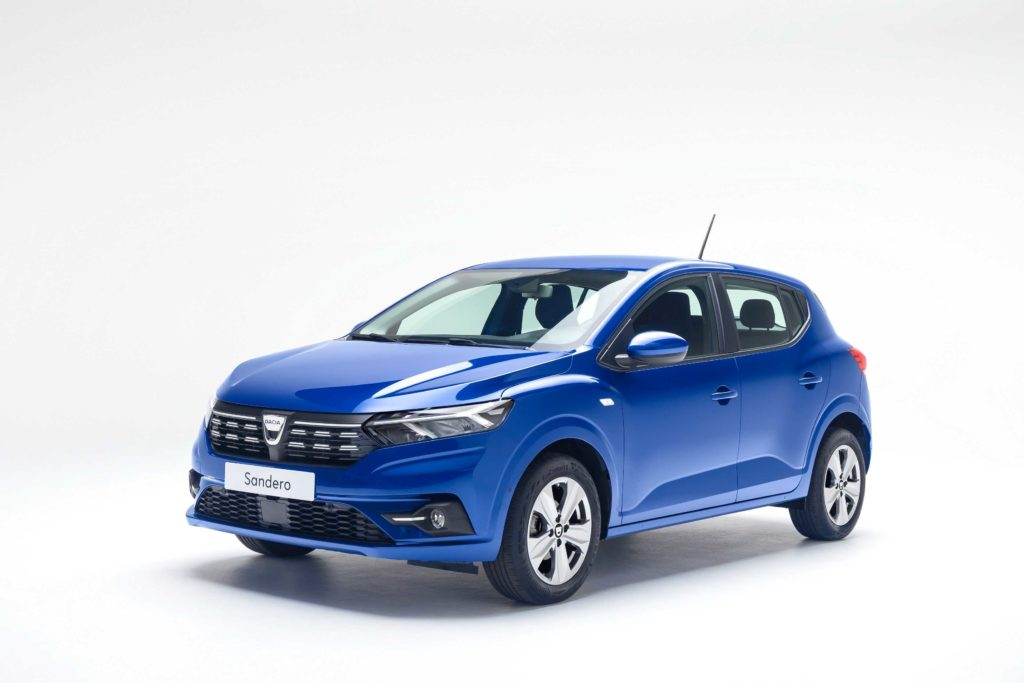 The new Dacia Sandero will arrive in Ireland in 2021