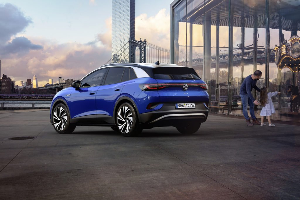 The new Volkswagen ID.4 expected in Ireland in January 2021