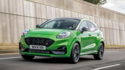 The new Ford Puma ST on the way to Ireland before the end of the year!