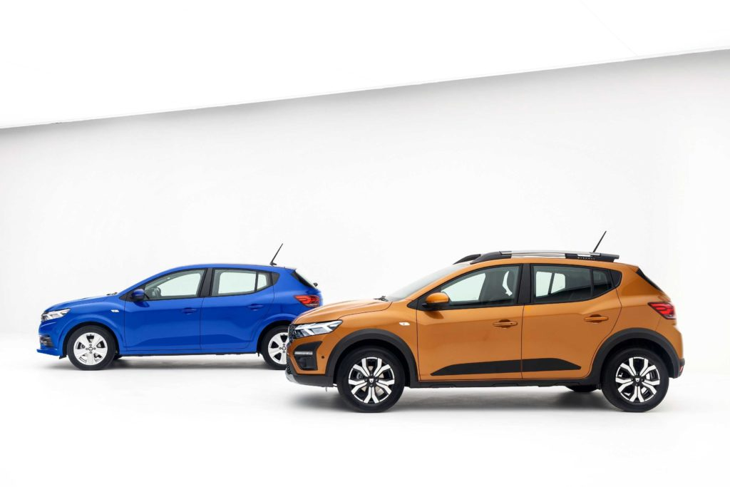 Sandero and Stepway budget compacts