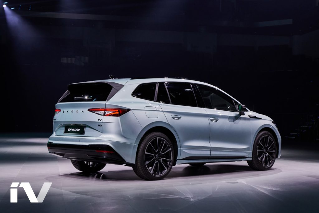The ENYAQ is the brand's first electric SUV