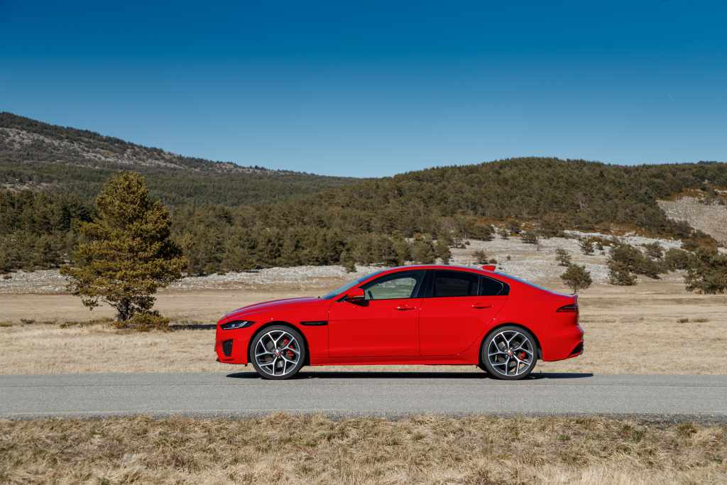 Diesel and petrol engines are available in the current XE line-up