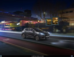 The new Ford Puma ST Line X Vignale