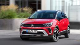 The 2021 Opel Crossland has been confirmed for Ireland