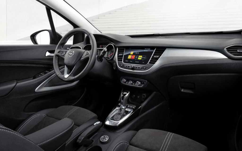 The interior of the new Crossland