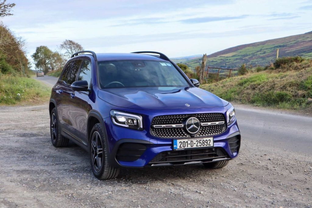 The Mercedes-Benz GLB on sale now from €42,350