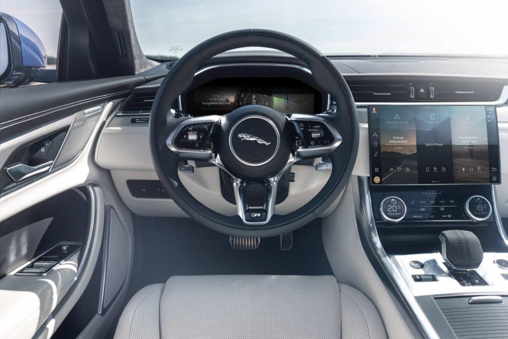 Inside the new Jaguar XF