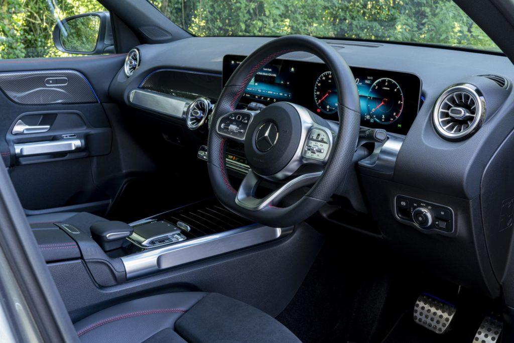 Inside the 2020 Mercedes-Benz GLB