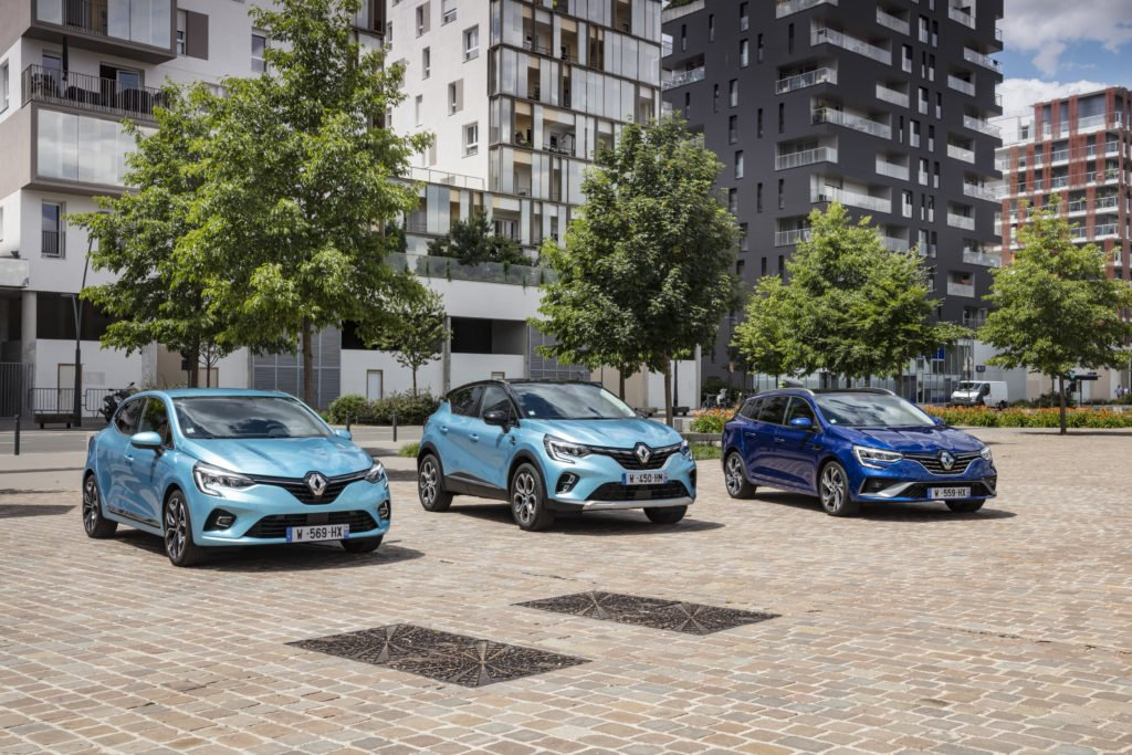 The new Renault E-TECH hybrid range now on sale in Ireland