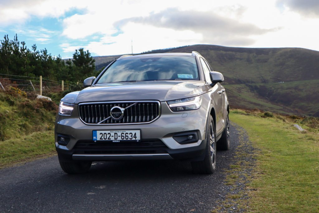 The Volvo XC40 T5 plug-in hybrid on test for Changing Lanes