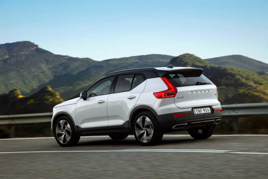 The Volvo XC40 is the bestselling Volvo in Ireland
