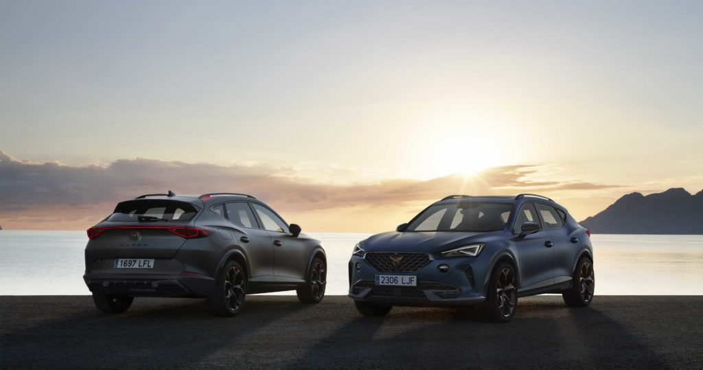 The new CUPRA Formentor arriving in Ireland this December