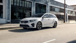 The new Kia Ceed Sportswagon PHEV, now on sale in Ireland