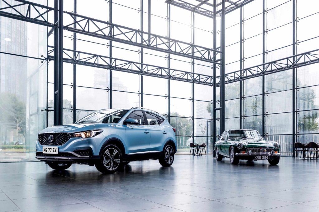 MG Motor is returning to Ireland with the arrival of the new MG ZS electric SUV