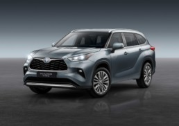 The Toyota Highlander is on sale in Ireland now