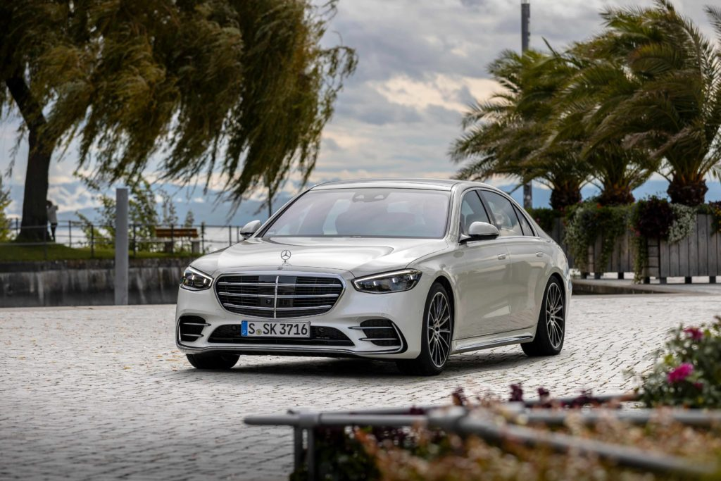 The new Mercedes-Benz S-Class, available in Ireland from January