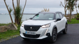 The new Peugeot 2008 on test for Changing Lanes