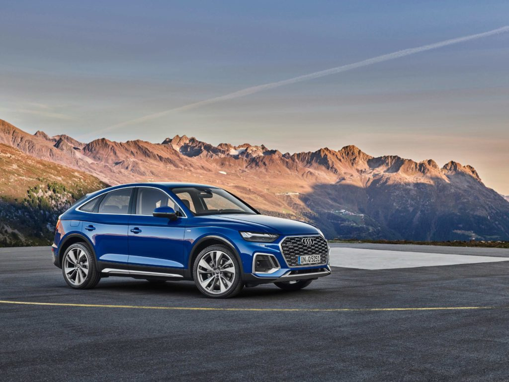 The Audi Q5 Sportback, a new model for the Audi brand in 2021