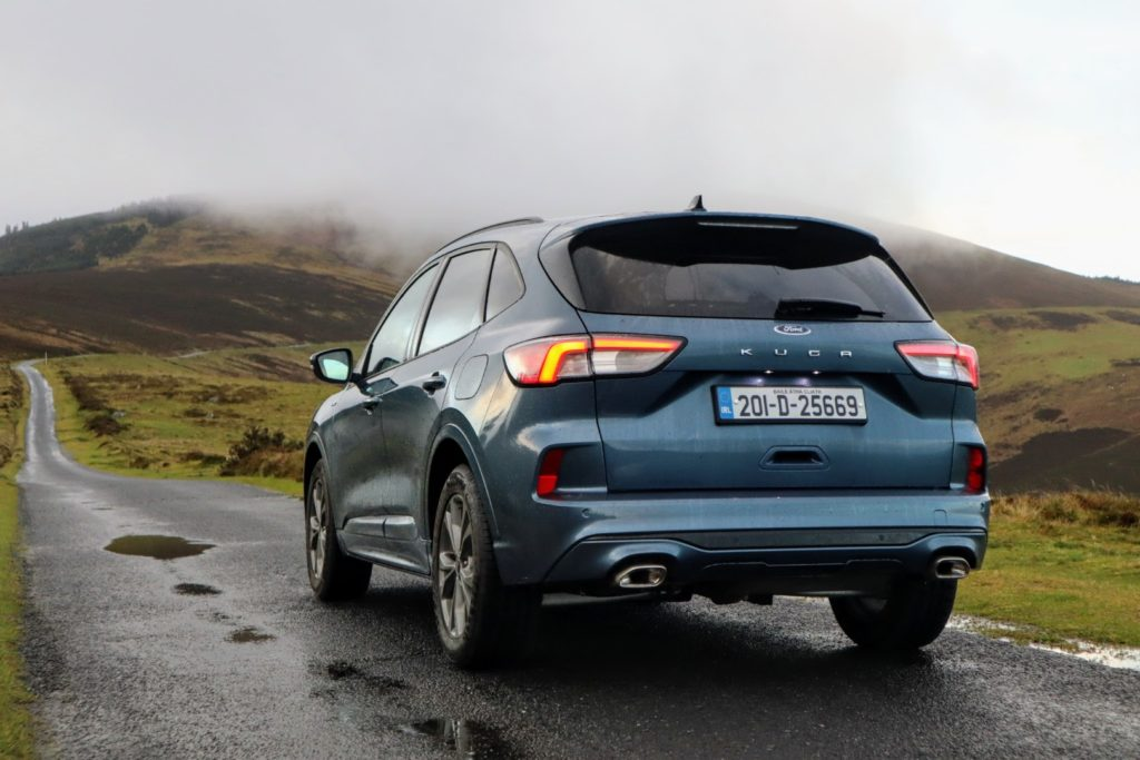 The new Ford Kuga is on sale in Ireland priced from €34,581