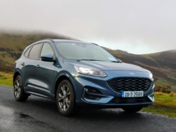 The new Ford Kuga diesel on test for Changing Lanes!