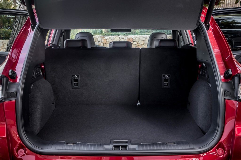 Plenty of legroom and a huge boot in the 2020 Ford Kuga