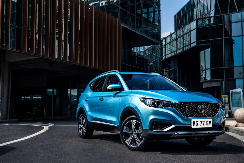 The MG ZS electric compact crossover is on sale now in Ireland